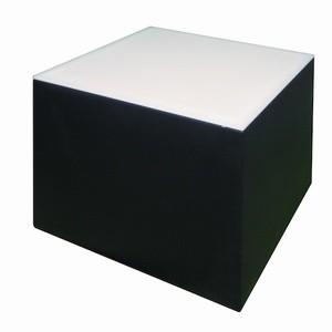 Loungetisch Cubix schwarz