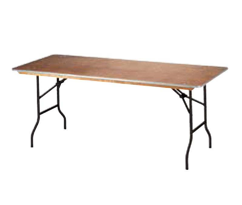 tisch eckig klappbar tische mobiliar profimiet shop rheinmain. Black Bedroom Furniture Sets. Home Design Ideas