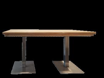 Sitztisch Edelstahl Toskana