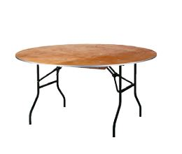tisch rund 152 cm klappbar tische mobiliar profimiet shop berlin. Black Bedroom Furniture Sets. Home Design Ideas