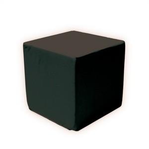 Black Lounge Sitzcube 40 x 40 x 40 cm